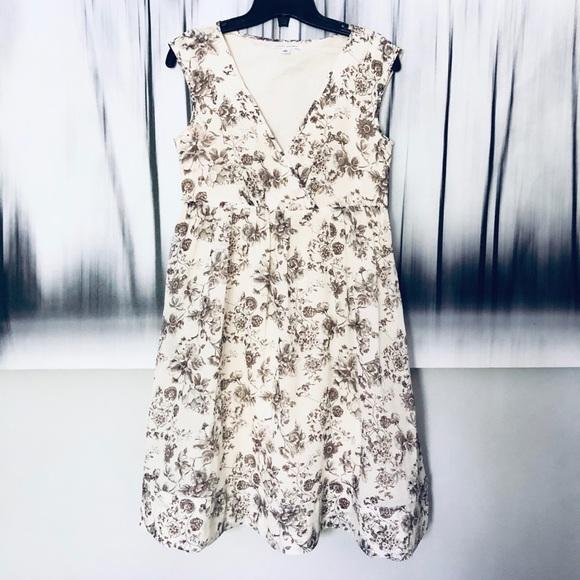 BANANA REPUBLIC Silk Floral Frock